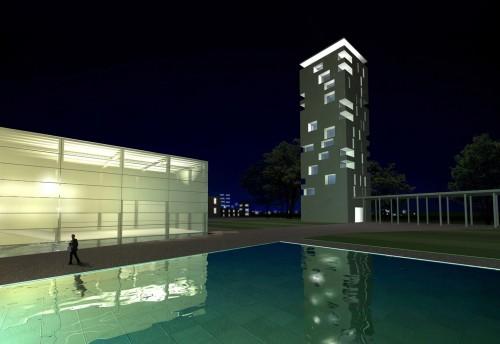 Progetti realizzati edifici allestimenti interni rcf for Area 51 progetti